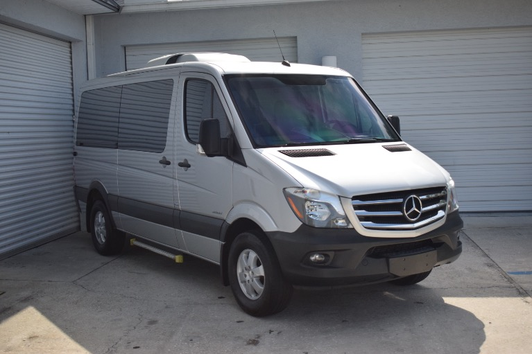 Used 2016 Mercedes-Benz Sprinter 2500 Passenger Standard Roof w/144 for sale Sold at Track and Field Motors in Safety Harbor FL 34695 2