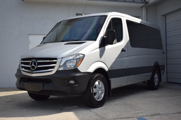 Used 2016 Mercedes-Benz Sprinter 2500 Passenger Standard Roof w/144 for sale Sold at Track and Field Motors in Safety Harbor FL 34695 5