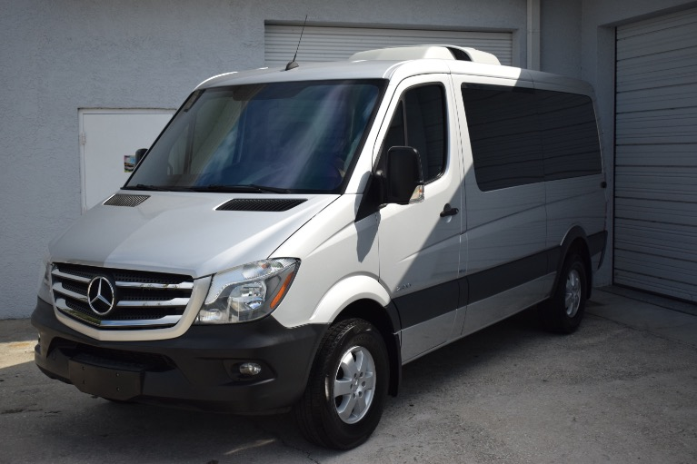Used 2016 Mercedes-Benz Sprinter 2500 Passenger Standard Roof w/144 for sale Sold at Track and Field Motors in Safety Harbor FL 34695 6