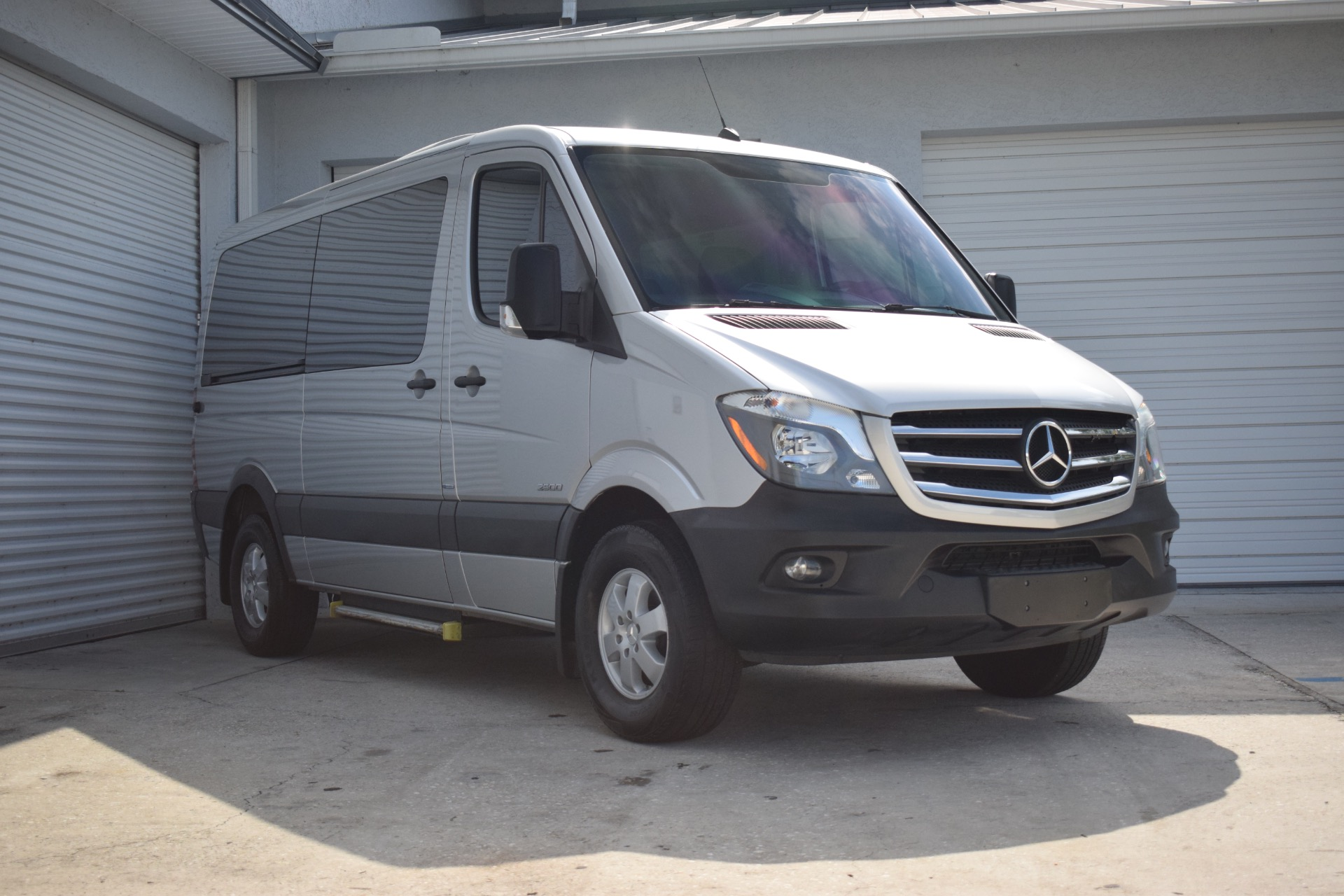 Used 2016 Mercedes-Benz Sprinter 2500 Passenger Standard Roof w/144