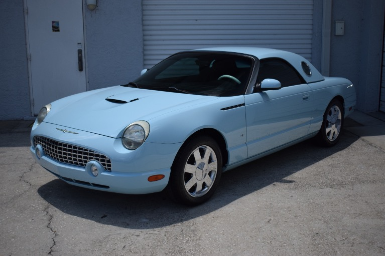 Used 2003 Ford Thunderbird Convertible 2D for sale $14,997 at Track and Field Motors in Safety Harbor FL 34695 6