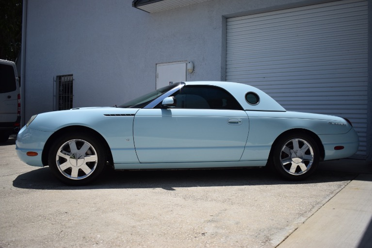 Used 2003 Ford Thunderbird Convertible 2D for sale $14,997 at Track and Field Motors in Safety Harbor FL 34695 7