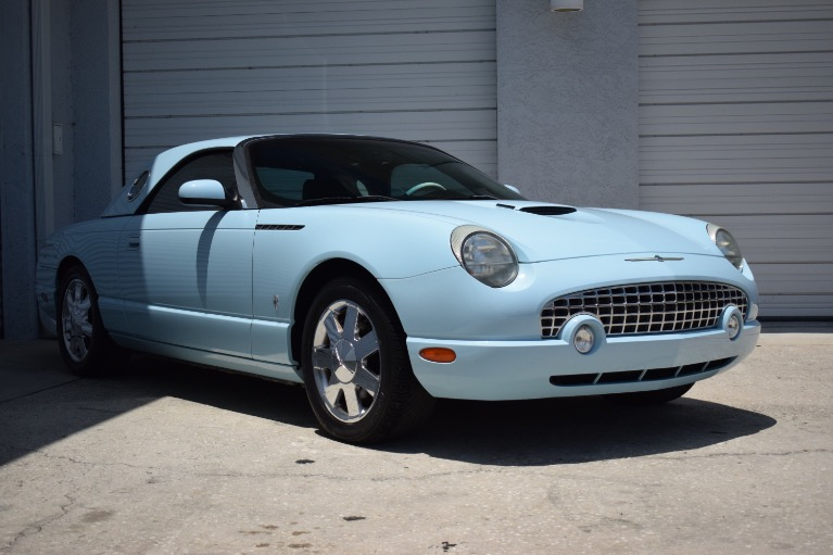 Used 2003 Ford Thunderbird Convertible 2D for sale $14,997 at Track and Field Motors in Safety Harbor FL 34695 1