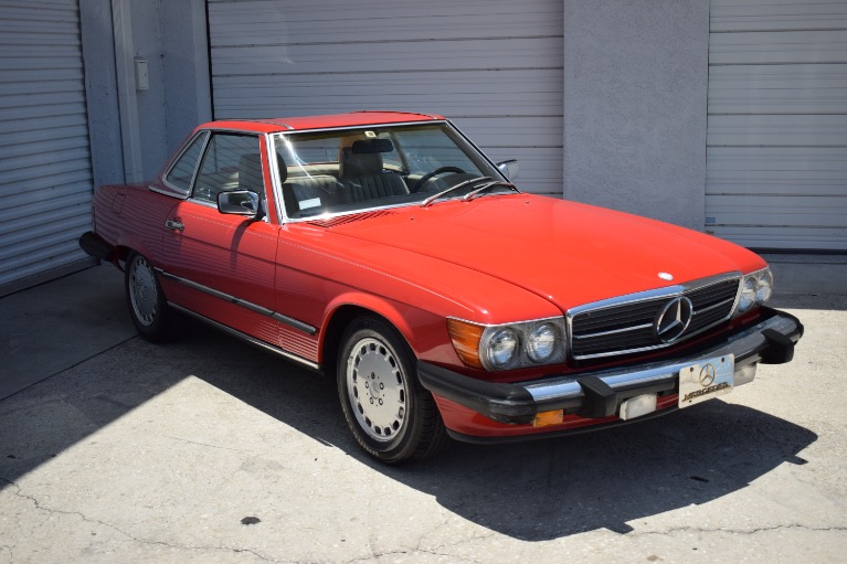 Used 1986 Mercedes-Benz 560 SL Cabrio for sale Sold at Track and Field Motors in Safety Harbor FL 34695 2