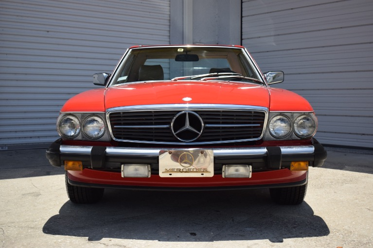 Used 1986 Mercedes-Benz 560 SL Cabrio for sale $14,997 at Track and Field Motors in Safety Harbor FL 34695 3
