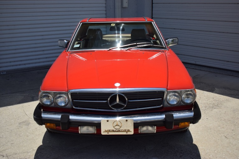 Used 1986 Mercedes-Benz 560 SL Cabrio for sale $14,997 at Track and Field Motors in Safety Harbor FL 34695 4