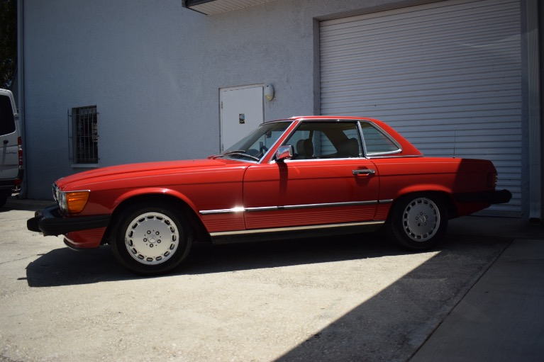 Used 1986 Mercedes-Benz 560 SL Cabrio for sale $14,997 at Track and Field Motors in Safety Harbor FL 34695 7