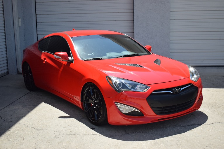 Used 2016 Hyundai Genesis Coupe 3.8 R-Spec Coupe 2D for sale Sold at Track and Field Motors in Safety Harbor FL 34695 2