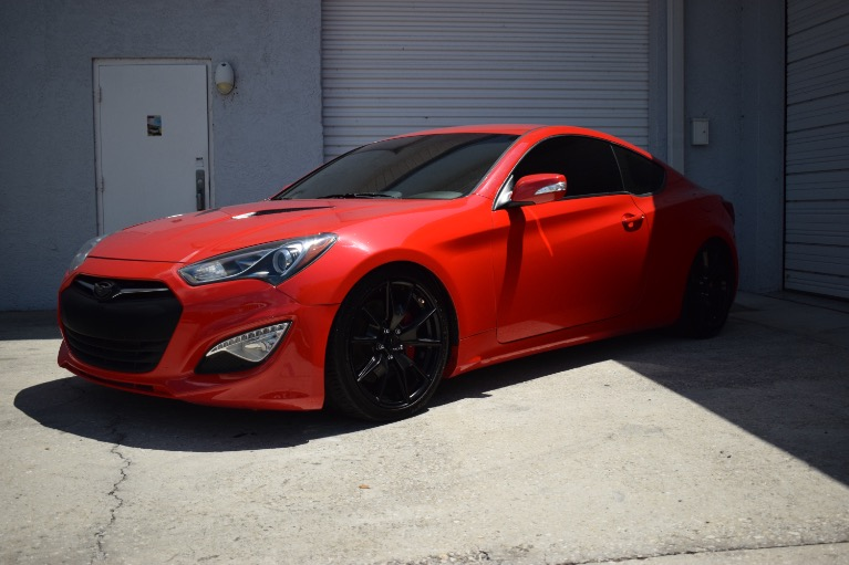 Used 2016 Hyundai Genesis Coupe 3.8 R-Spec Coupe 2D for sale Sold at Track and Field Motors in Safety Harbor FL 34695 5