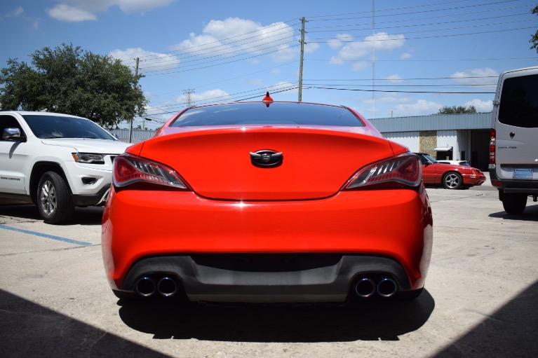 Used 2016 Hyundai Genesis Coupe 3.8 R-Spec Coupe 2D for sale Sold at Track and Field Motors in Safety Harbor FL 34695 8