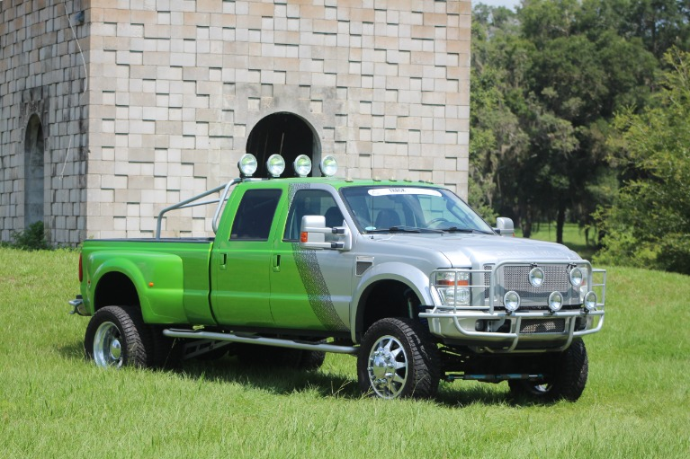 Used 2008 Ford F450 Super Duty Crew Cab Lariat Pickup 4D 8 ft for sale Sold at Track and Field Motors in Safety Harbor FL 34695 3