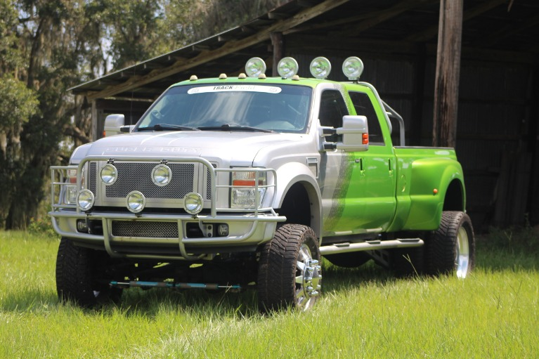 Used 2008 Ford F450 Super Duty Crew Cab Lariat Pickup 4D 8 ft for sale Sold at Track and Field Motors in Safety Harbor FL 34695 4