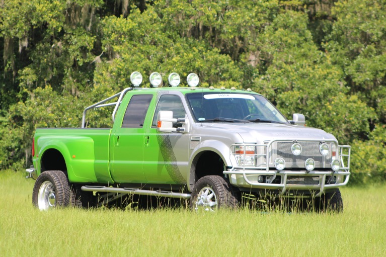 Used 2008 Ford F450 Super Duty Crew Cab Lariat Pickup 4D 8 ft for sale Sold at Track and Field Motors in Safety Harbor FL 34695 7