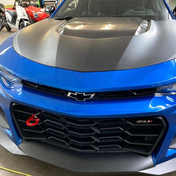 New 2018 Chevrolet Camaro ZL1 Coupe 2D for sale Sold at Track and Field Motors in Safety Harbor FL 34695 4