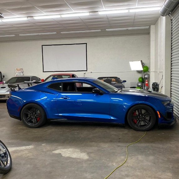 New 2018 Chevrolet Camaro ZL1 Coupe 2D for sale Sold at Track and Field Motors in Safety Harbor FL 34695 5