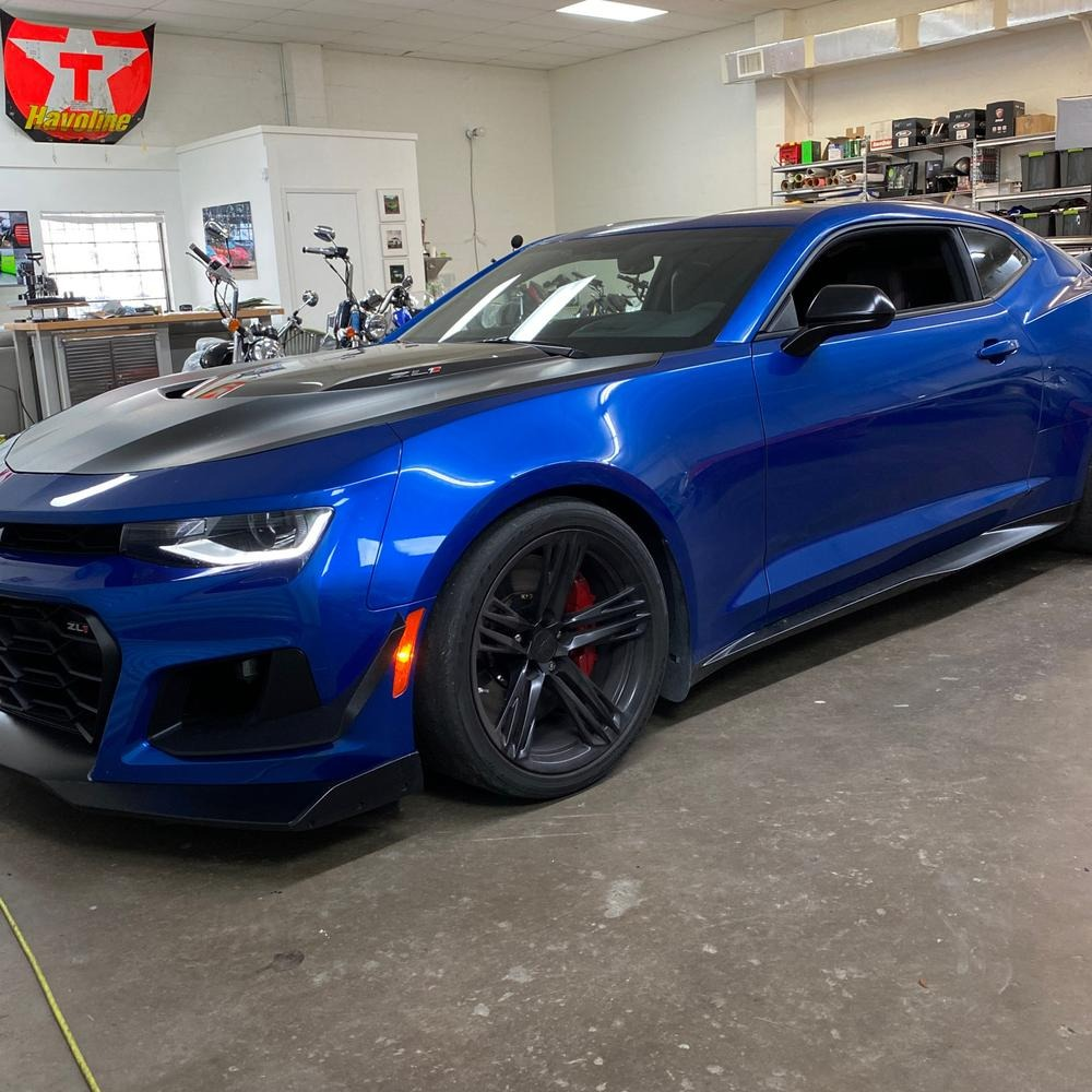 New 2018 Chevrolet Camaro ZL1 Coupe 2D for sale Sold at Track and Field Motors in Safety Harbor FL 34695 1