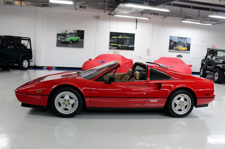 Used 1989 Ferrari 328 GTS for sale $112,777 at Track and Field Motors in Safety Harbor FL 34695 6