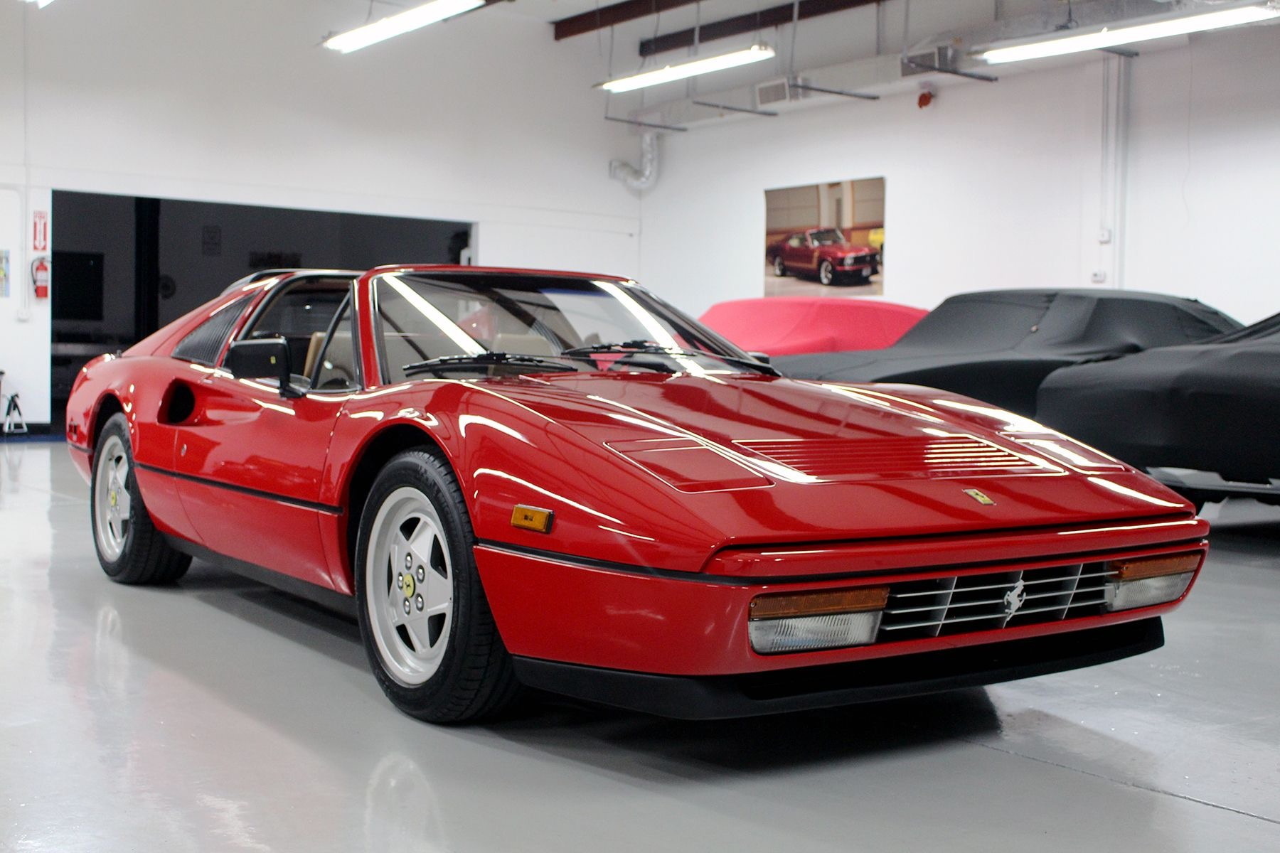 Used 1989 Ferrari 328 GTS for sale $112,777 at Track and Field Motors in Safety Harbor FL