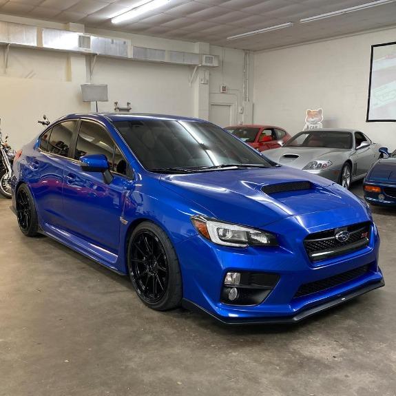 New 2015 Subaru WRX WRX STI Limited Sedan 4D for sale Sold at Track & Field Motors in Safety Harbor FL 34695 3