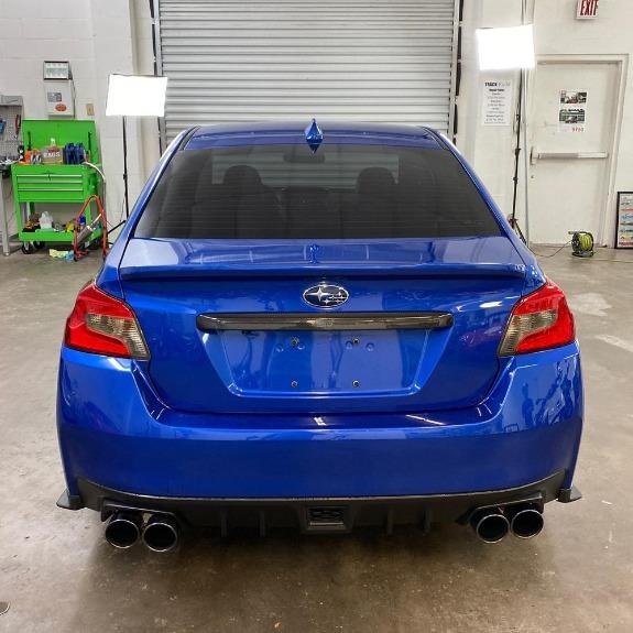 New 2015 Subaru WRX WRX STI Limited Sedan 4D for sale Sold at Track & Field Motors in Safety Harbor FL 34695 7