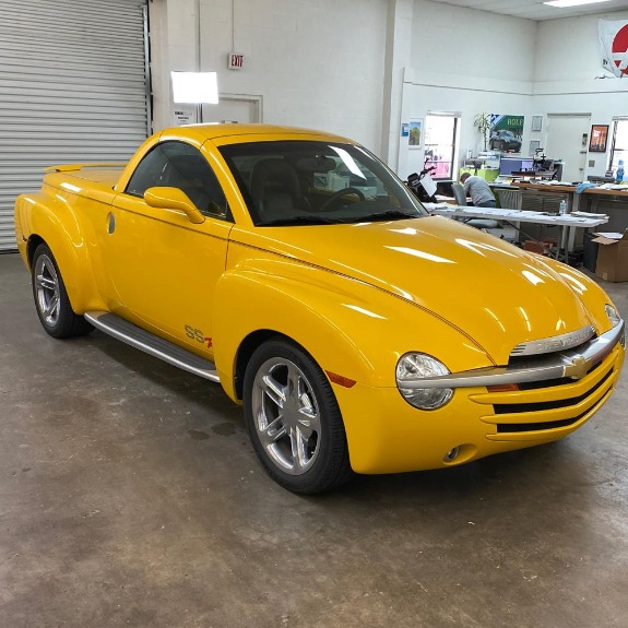 New 2004 Chevrolet SSR Convertible Pickup 2D for sale Sold at Track and Field Motors in Safety Harbor FL 34695 3