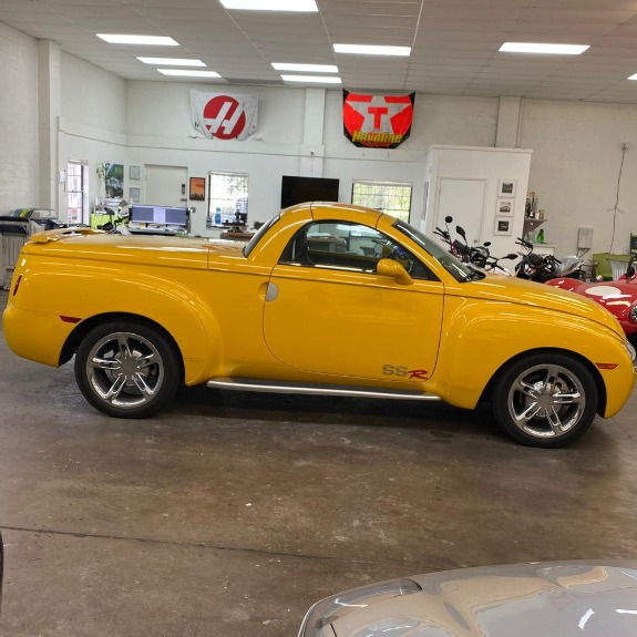 New 2004 Chevrolet SSR Convertible Pickup 2D for sale Sold at Track and Field Motors in Safety Harbor FL 34695 5