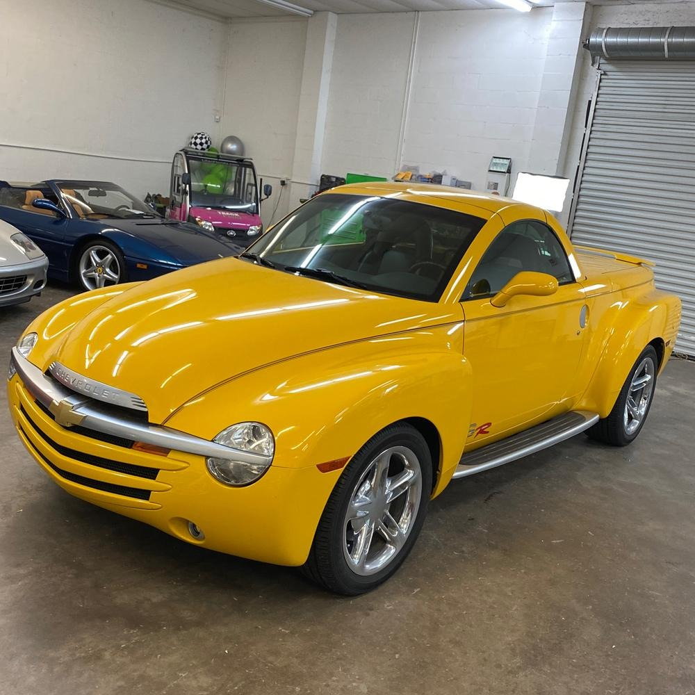 New 2004 Chevrolet SSR Convertible Pickup 2D for sale Sold at Track and Field Motors in Safety Harbor FL 34695 1