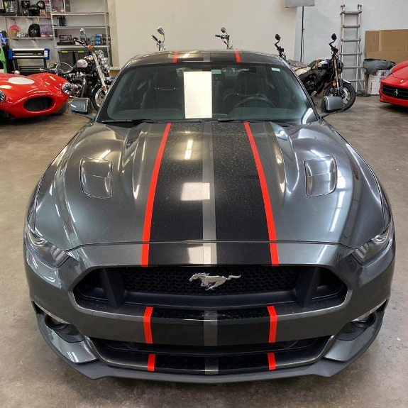 Used 2017 Ford Mustang GT Premium Coupe 2D for sale Sold at Track & Field Motors in Safety Harbor FL 34695 4