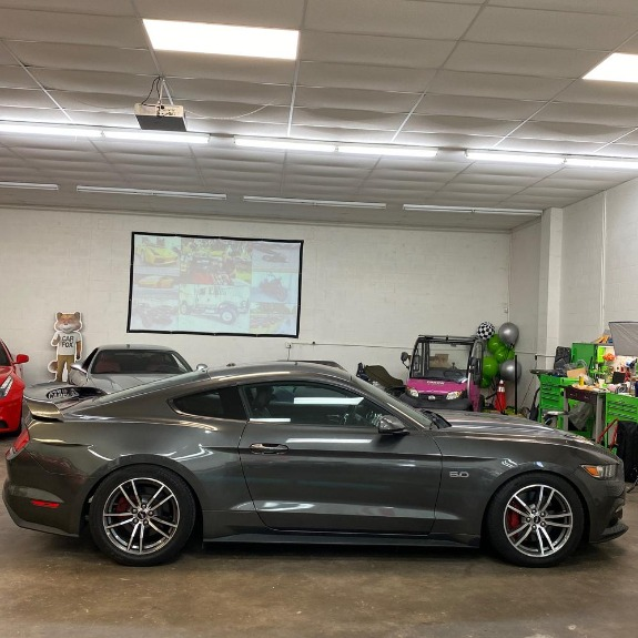 Used 2017 Ford Mustang GT Premium Coupe 2D for sale Sold at Track & Field Motors in Safety Harbor FL 34695 5