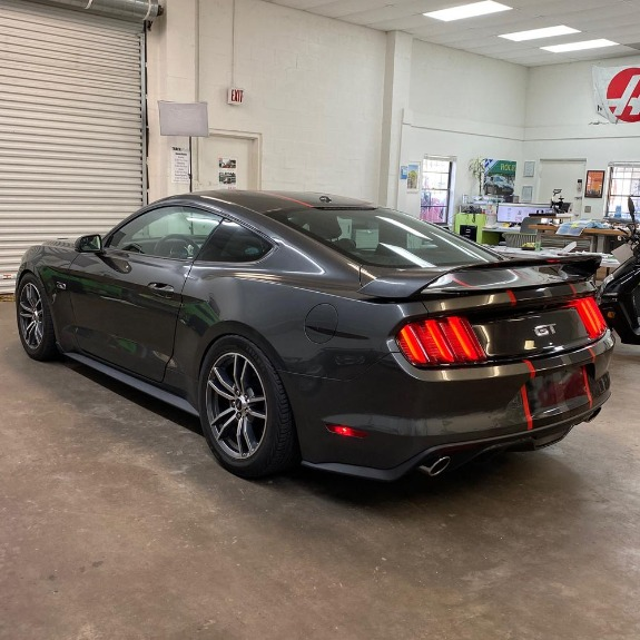 Used 2017 Ford Mustang GT Premium Coupe 2D for sale Sold at Track and Field Motors in Safety Harbor FL 34695 8