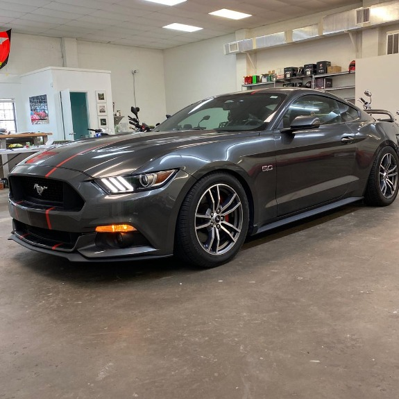 Used 2017 Ford Mustang GT Premium Coupe 2D for sale Sold at Track & Field Motors in Safety Harbor FL 34695 1