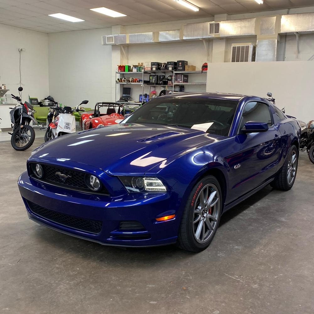 Used 2014 Ford Mustang GT Coupe 2D for sale Sold at Track and Field Motors in Safety Harbor FL 34695 1