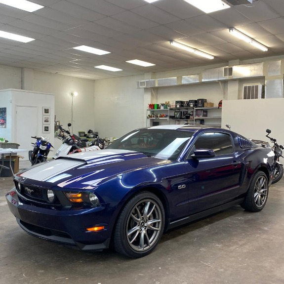 Used 2012 Ford Mustang GT Premium Coupe 2D for sale Sold at Track and Field Motors in Safety Harbor FL 34695 6