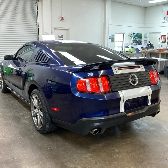 Used 2012 Ford Mustang GT Premium Coupe 2D for sale Sold at Track and Field Motors in Safety Harbor FL 34695 7