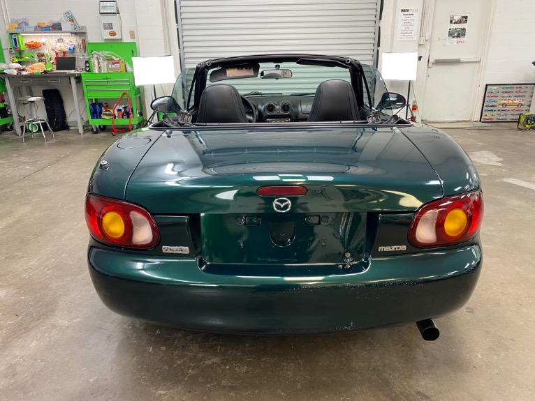 New 1999 MAZDA MX-5 Miata Convertible 2D for sale $6,497 at Track and Field Motors in Safety Harbor FL 34695 5