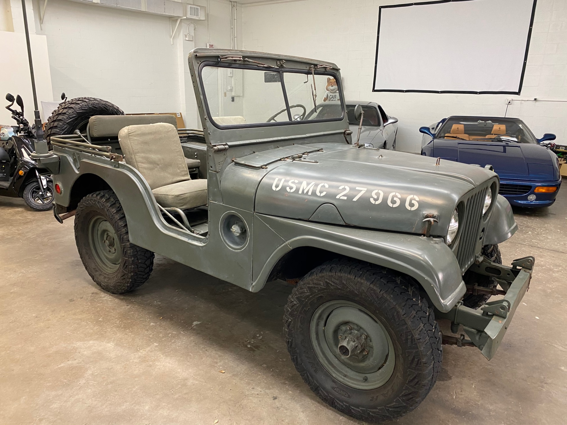 Used 1952 Willys Jeep M38 for sale $14,997 at Track and Field Motors in Safety Harbor FL