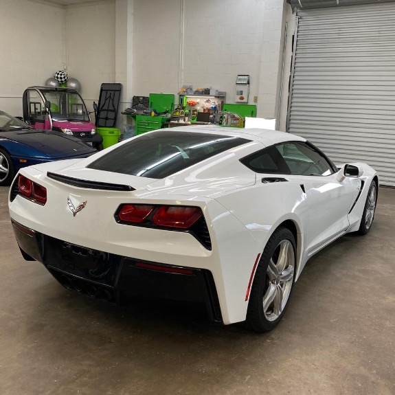 Used 2016 Chevrolet Corvette Stingray Coupe 2D for sale Sold at Track and Field Motors in Safety Harbor FL 34695 4