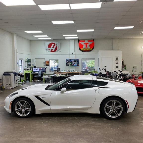 Used 2016 Chevrolet Corvette Stingray Coupe 2D for sale Sold at Track and Field Motors in Safety Harbor FL 34695 6