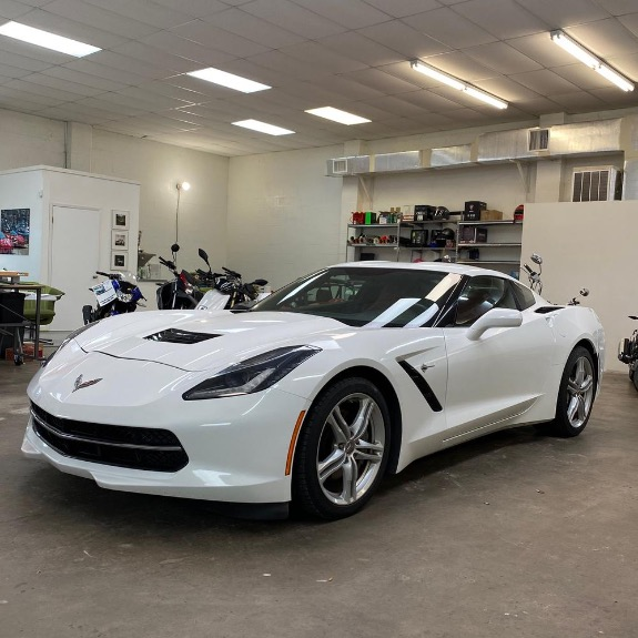 Used 2016 Chevrolet Corvette Stingray Coupe 2D for sale Sold at Track and Field Motors in Safety Harbor FL 34695 8