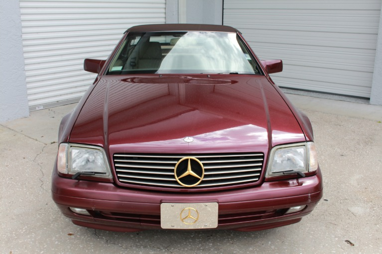Used 1996 Mercedes-Benz SL-Class SL 500 Roadster 2D for sale $11,497 at Track and Field Motors in Safety Harbor FL 34695 3
