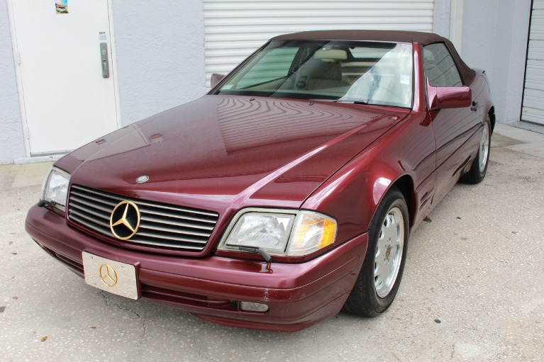 Used 1996 Mercedes-Benz SL-Class SL 500 Roadster 2D for sale $11,497 at Track and Field Motors in Safety Harbor FL 34695 4