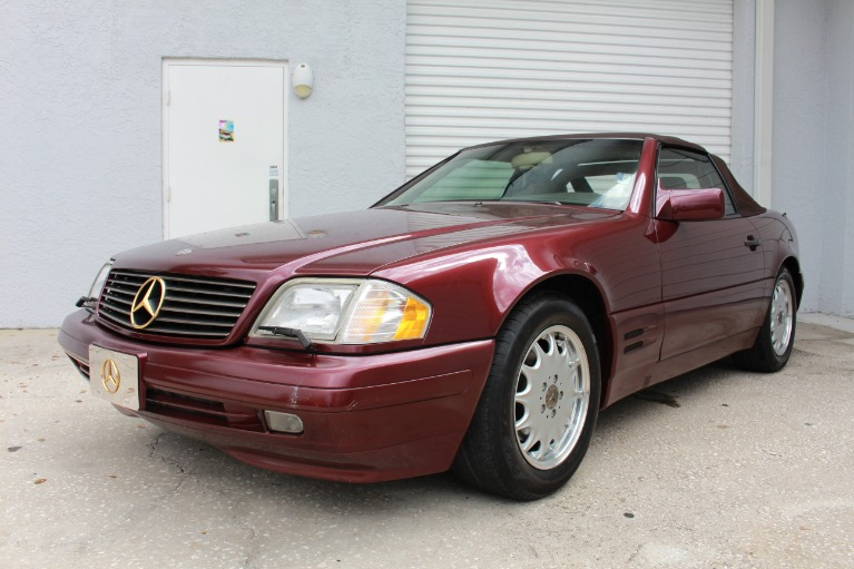 Used 1996 Mercedes-Benz SL-Class SL 500 Roadster 2D for sale $11,497 at Track and Field Motors in Safety Harbor FL 34695 5