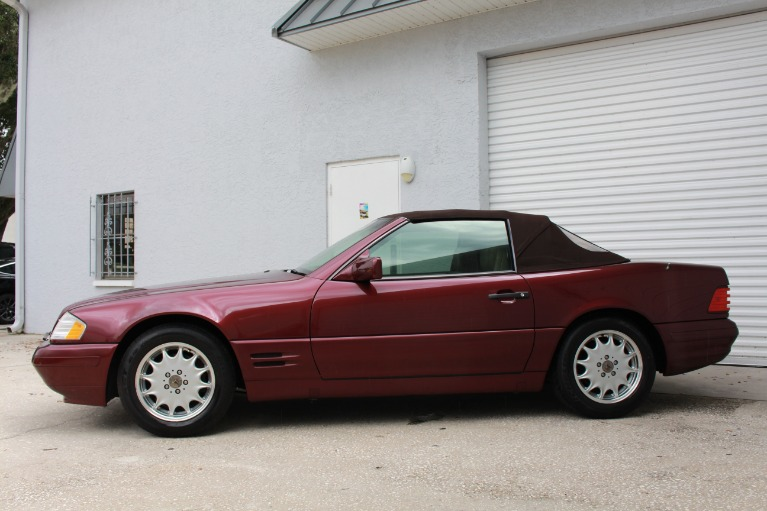 Used 1996 Mercedes-Benz SL-Class SL 500 Roadster 2D for sale $11,497 at Track and Field Motors in Safety Harbor FL 34695 6