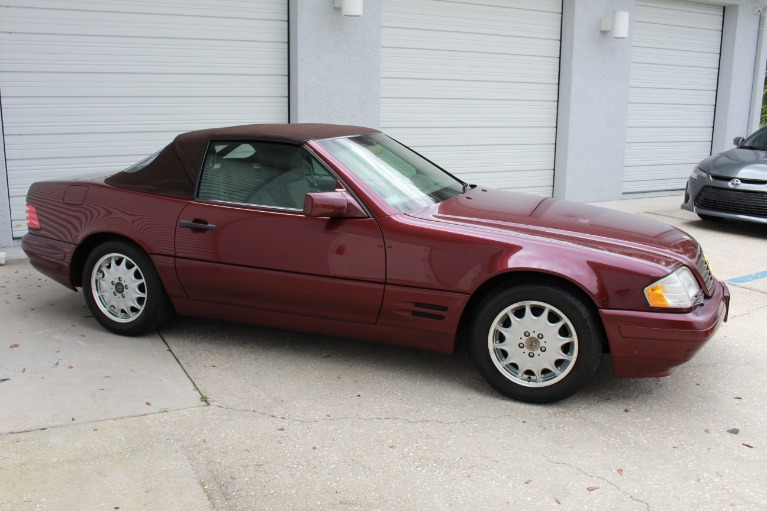 Used 1996 Mercedes-Benz SL-Class SL 500 Roadster 2D for sale $11,497 at Track and Field Motors in Safety Harbor FL 34695 7