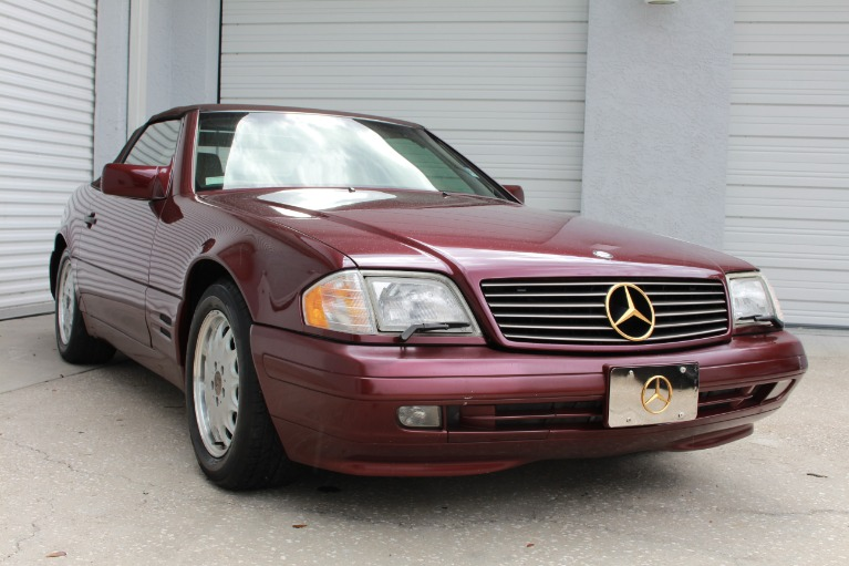 Used 1996 Mercedes-Benz SL-Class SL 500 Roadster 2D for sale $11,497 at Track and Field Motors in Safety Harbor FL 34695 1