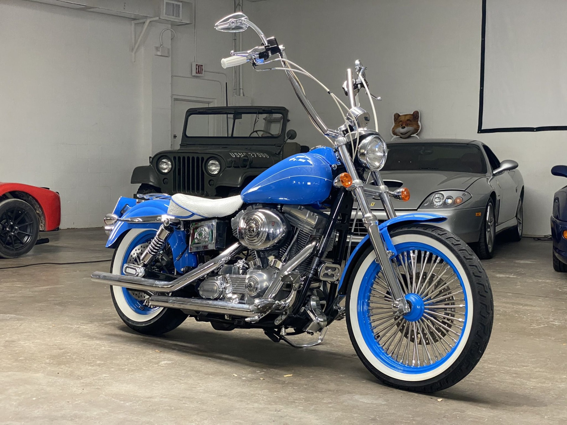 Used 2003 Harley-Davidson FXD Dyna Super Glide for sale $6,997 at Track and Field Motors in Safety Harbor FL