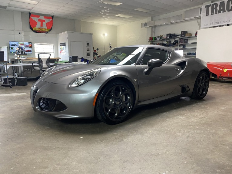 Used 2017 Alfa Romeo 4C Coupe 2D for sale $44,997 at Track and Field Motors in Safety Harbor FL 34695 5