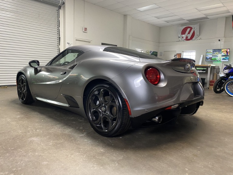 Used 2017 Alfa Romeo 4C Coupe 2D for sale $44,997 at Track and Field Motors in Safety Harbor FL 34695 7