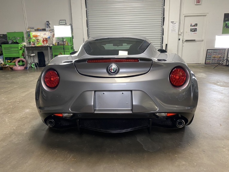 Used 2017 Alfa Romeo 4C Coupe 2D for sale $44,997 at Track and Field Motors in Safety Harbor FL 34695 8