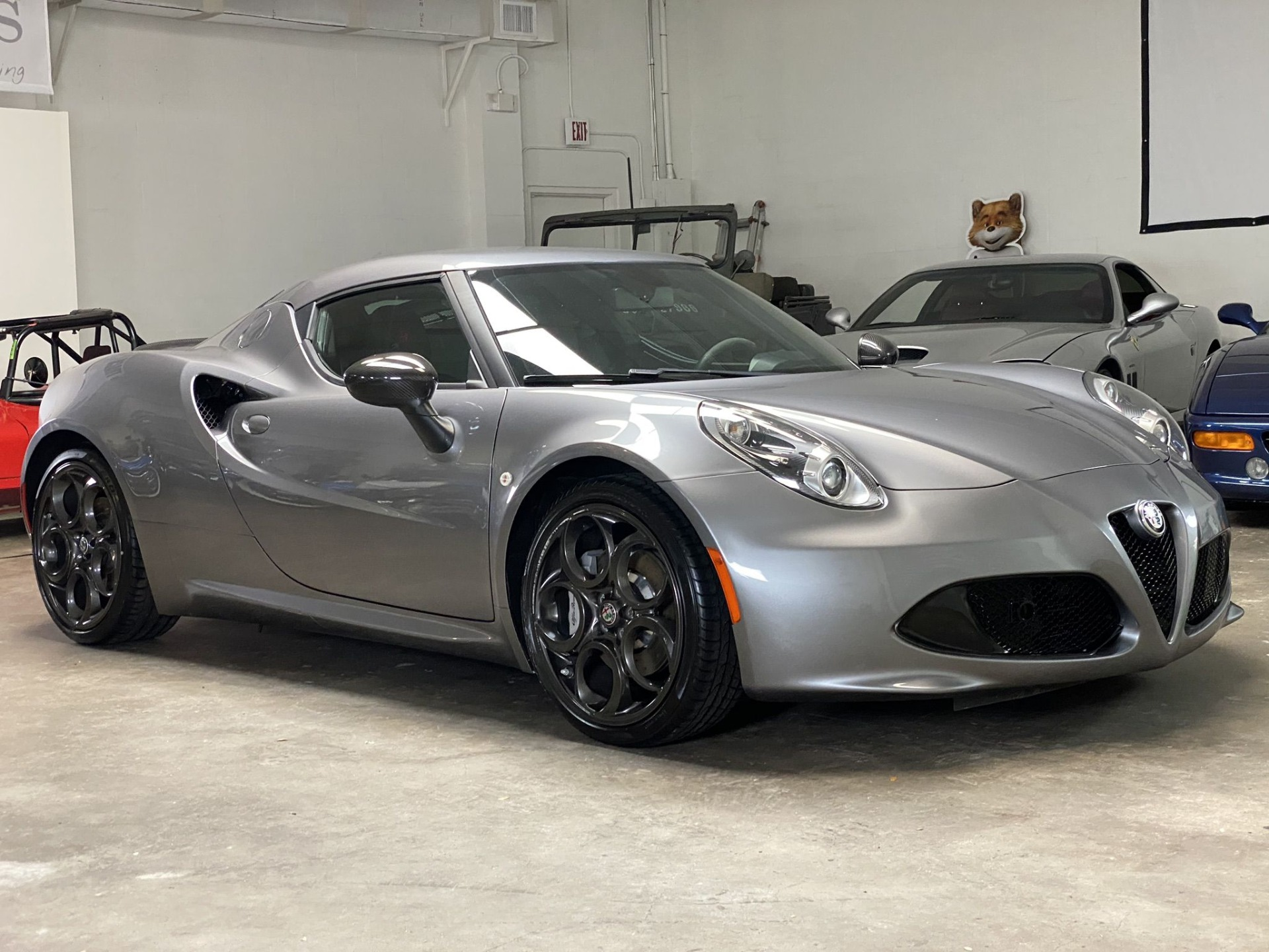 Used 2017 Alfa Romeo 4C Coupe 2D for sale $44,997 at Track and Field Motors in Safety Harbor FL